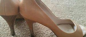 Marc Fisher tan heels